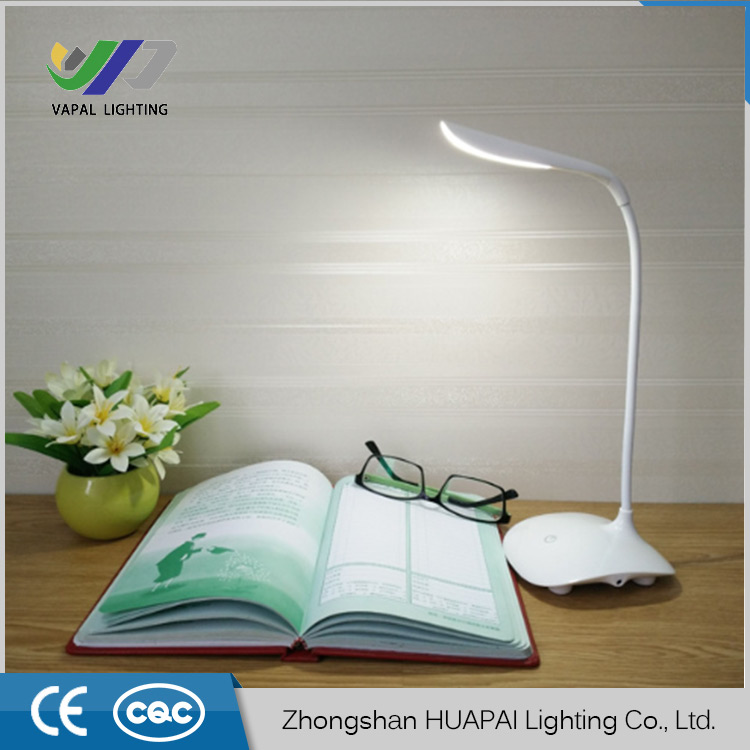 Dimmable Clip On USB LED Touch Sensor Reading Light Desk Lamp Table Touch led Table Lamp