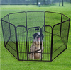Eco-freindly feature and metal tube dog pens outdoor for small dogs