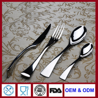 dining flatware hand forged flatware set for hotel restaurant household gift dealer and wholesale
