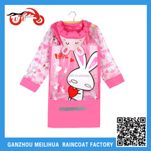 Boys Clothing Tecido Oxford Hello Kitty Kids Rain Coat
