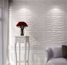 Lightweight Waterproof Mobile 3D Wall Panels for Bathroom Decorative Wall