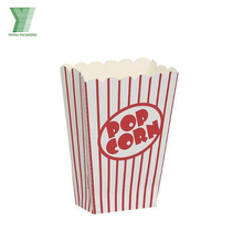 Custom printed disposable popcorn boxes wholesale,paper popcorn box