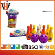 Wholesale toy plastic toy bowling ball
