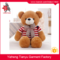 Custom Lovely Plush Teddy Bear toy With T Shirt