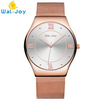 High Quality Minimalist Style Your Custom Logo Japan Movt Mesh Watch Low MQO, Men Watch