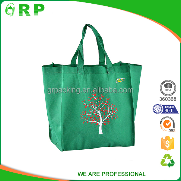 ISO/BSCI New arrival gift bag foldable non woven bag factory