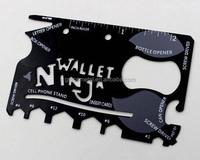 FREE SAMPLE ninja wallet pocket knife credit card knife