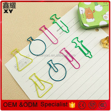 Doctor test tube shape paper clips as advertising gift