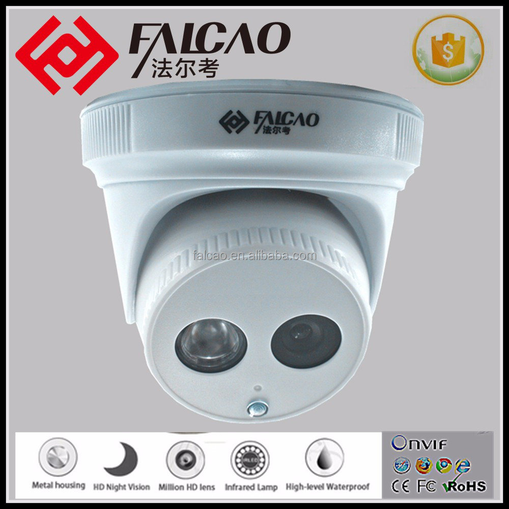 CCTV Cameras Outdoor POE Professional 720p Full HD 1.0MP dome IP Camera