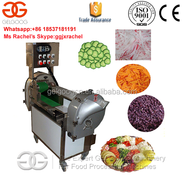 Electric Vegetable Cutter Machine Vegetable Chips Making Machine