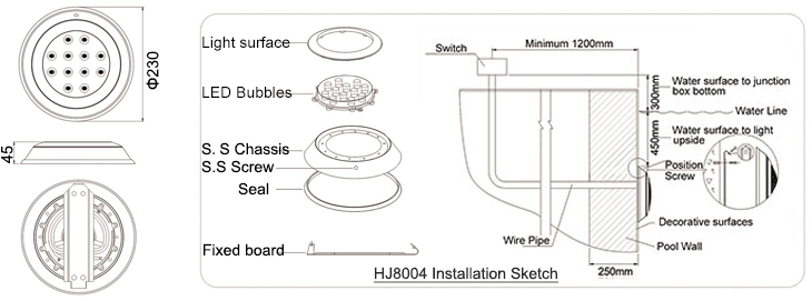 pool light junction box wiring diagram pool image swimming pool light wiring diagram wiring diagrams and schematics on pool light junction box wiring diagram