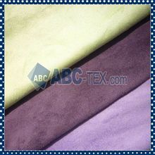 High Quality Polyester Recycled Pet Soft Hand Feeling Suede Fabric
