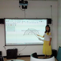 multi touch 82 inch interactive smart whiteboard presentations