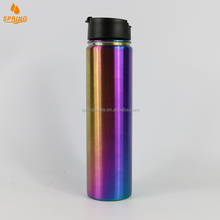 Factory Wholesale Custom Logo Printing Drinking Outdoor Water Sports Bottle Custom Shaker Bottle With Straw Lid D-03-21