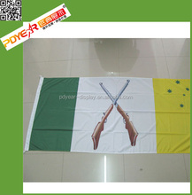 Printed Eco-friendly Polyester Pakistan National Flag
