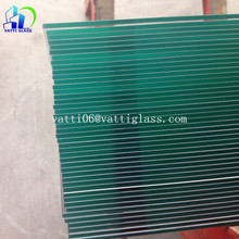 Top quality best price 12mm 10mm thk clear tempered glass for building