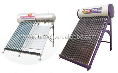 High pressure heat pipe solar water heater