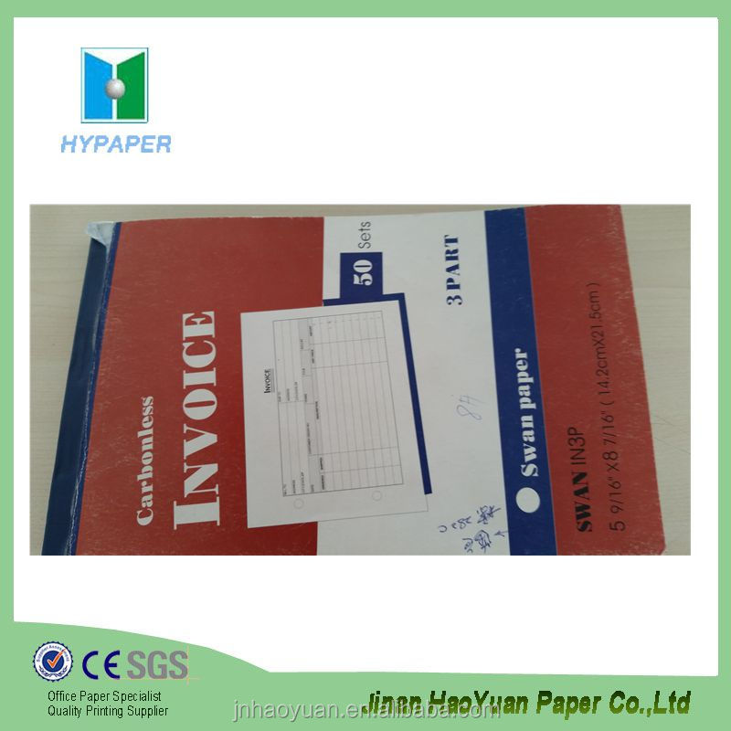ncr carbonless paper blank commercial invoice