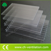 China Supplier cheap sunshade roof polycarbonate transparent corrugated sheet