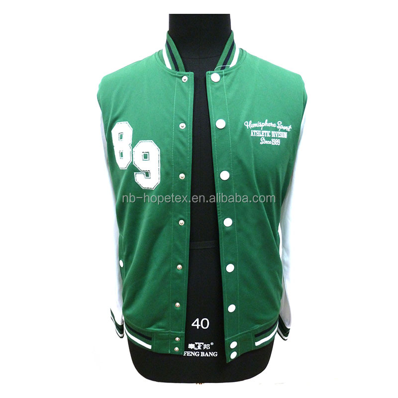 2016 European casual sports jacket school wear outdoor style for autumn