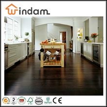 Antique Deep Walnut Color Strand Woven Bamboo Flooring