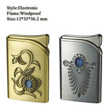 XY320183-1 fashion Gems decorative pattern windproof lighter