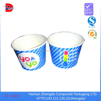 Custom Printed popcorn Paper Cup, Paper Bowls , ice ream water proof containers