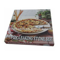 Hot sale corrugated paper pizza box packaging,customized paper take-away food box