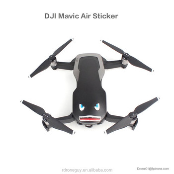 Sunnylife Cool Stickers Full Set  Skin Battery Remote Controller Decals For Mavic Air
