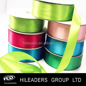 2018 Wholesale 100% Polyester Satin Ribbon