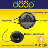Super bright 75w 7 round led headlight with day time running light for jeep