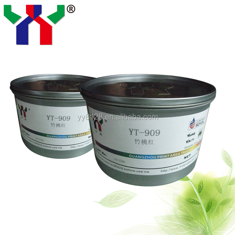[manufacturer] YT-912 Purple Pantone Soya Offset Printing Ink for Booklet