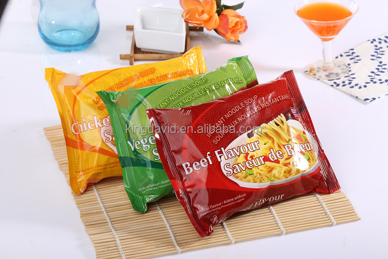 85g instant noodles bulk Chicken/Beef/Shrimp Flavor Fried Instant Noodles