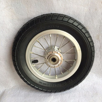 small alloy wheel with stainess spoke for baby stroller AL1001-806