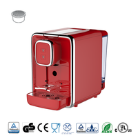 Electric control capsule 2 cup coffee maker machine