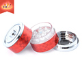 JIju JL-243J-1 Small 3piece Acrylic Teeth Herb Grinder