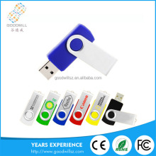 Promotional Gift Wholesale Bulk Cheap 1Gb-32Gb Usb Stick Swivel Flash Memory Drives Usb