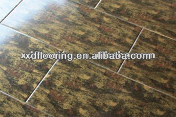self adhesive u groove engineered flooring laminant