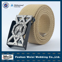 2013 exclusive design wholesale cotton web belt material