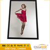 Size a4a3a2a1a0 led illuminating light box panel box picture photo frame