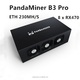 PandaMiner B3 Pro 8 x RX470 gpu Professional ETH Graphic card Miner