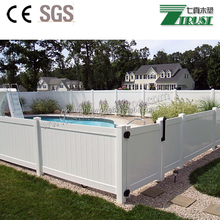 Low carbon UV Resistant composite fence for sale, pvc fence, fence post