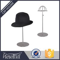 Top quality seamless welding metal fitted hat rack