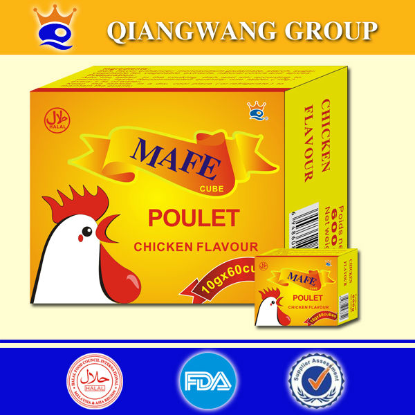Health seasoning products chicken poulet seasoning cubes