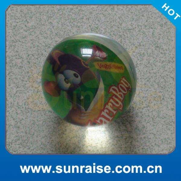 hot selling promotional 100mm hollow high bouncing comet ball