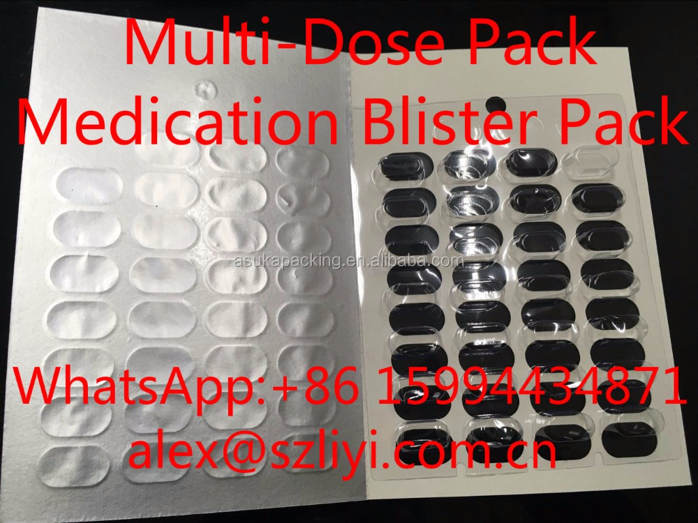 cold seal blister pack