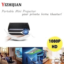 lcd style mini led digital home cinema projector for christmas party