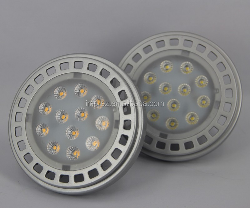 New arrival SMD 2835 led AR111 CE ROHS Approved 12W GU10 /G53 LED AR111