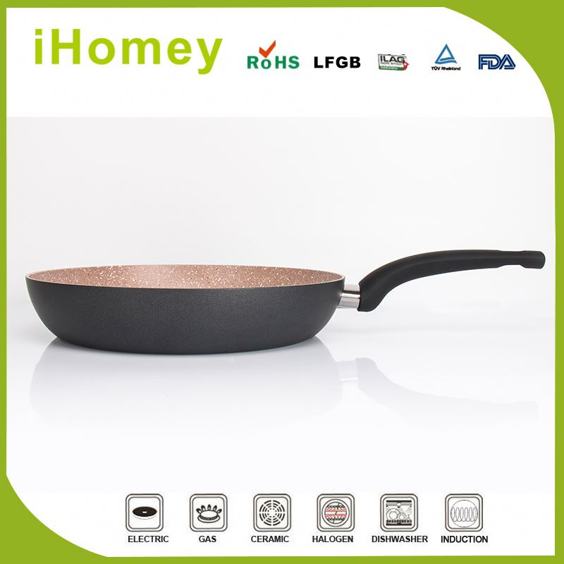 Cheap Price For Different Size Round No Oil-smoke Fry Pan Aluminum Fry Pan For Cooking