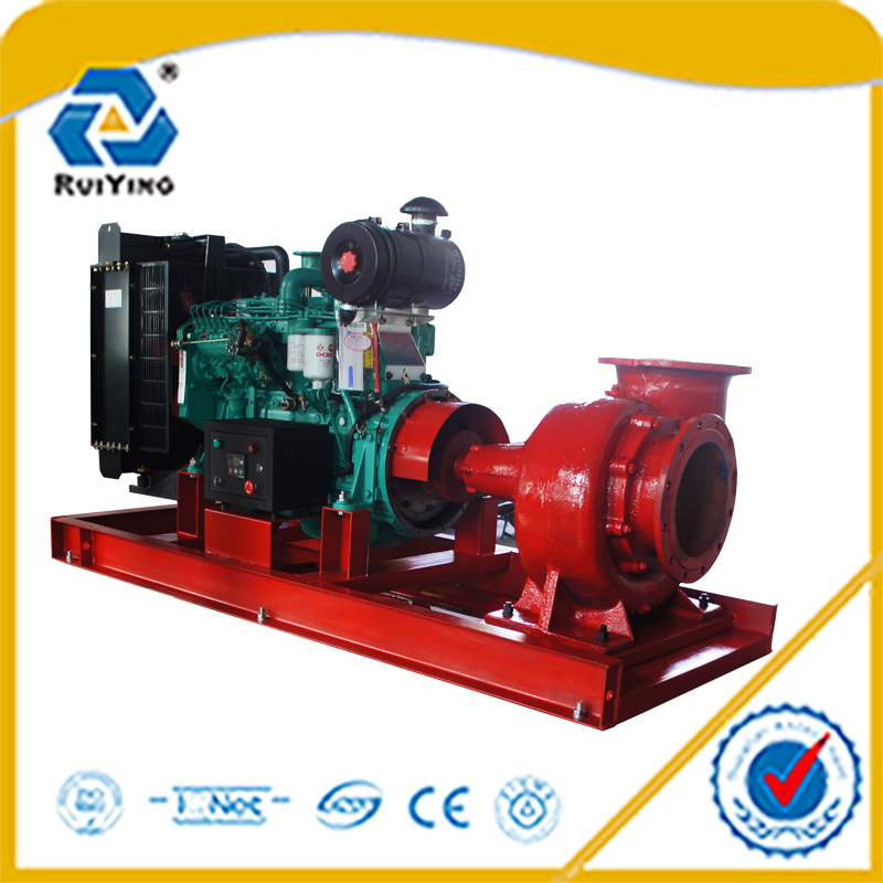 12 inch diesel water pump for industry open frame with 1200m3/h flow